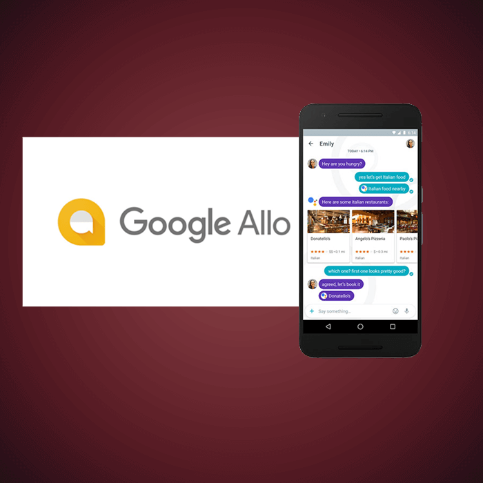 Google Allo Featured image