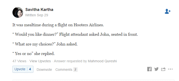 witty answers quora