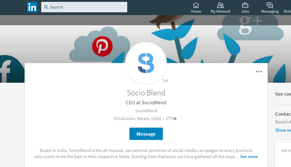 Linkedin New Look
