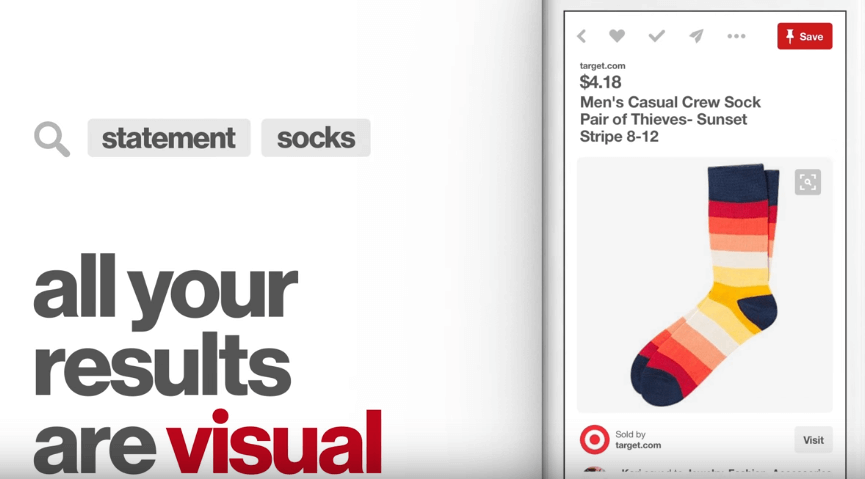 Visual Results Pinterest Ads