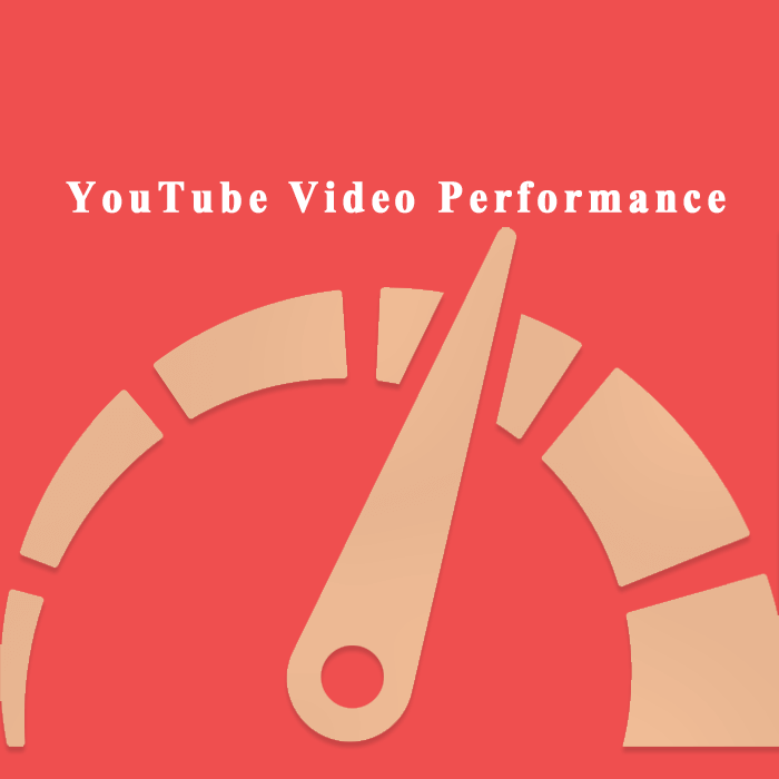 Youtube video performance