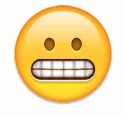 grimming face emoji snapchat