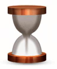 hourglass emoji snapchat