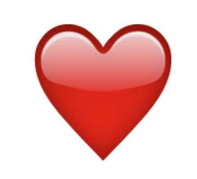 red heart emoji snapchat