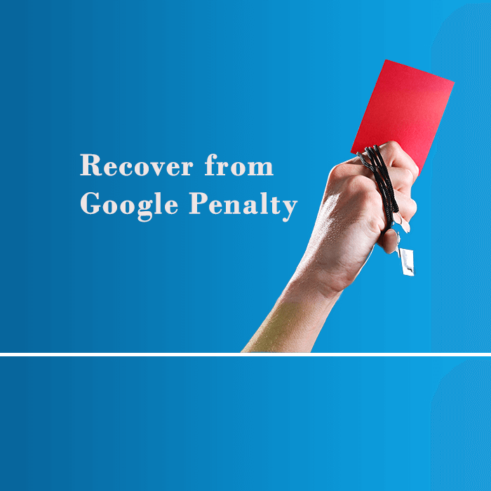 recover google penalty