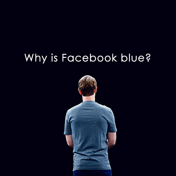 why is Facebook blue