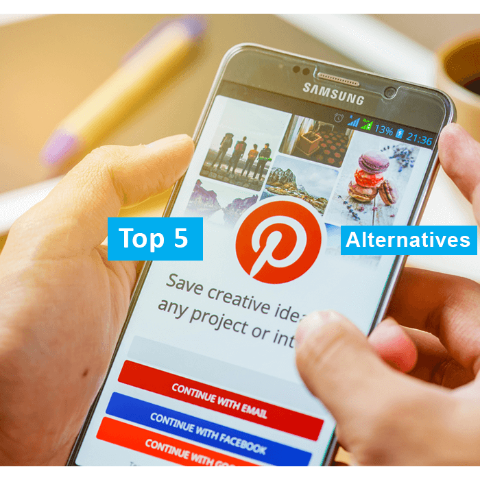 top 5 pinterest alternatives