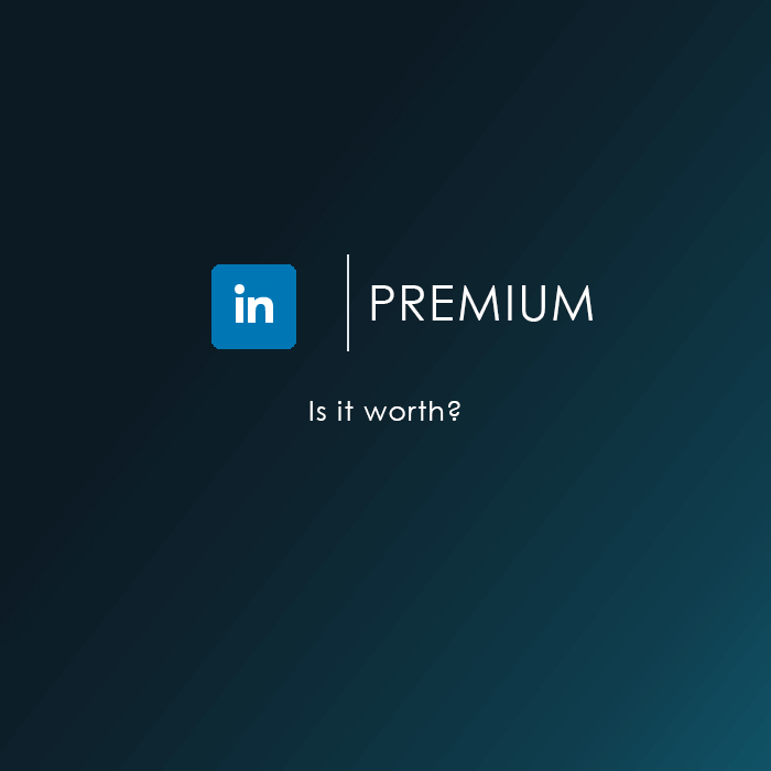 Linkedin Premium worth
