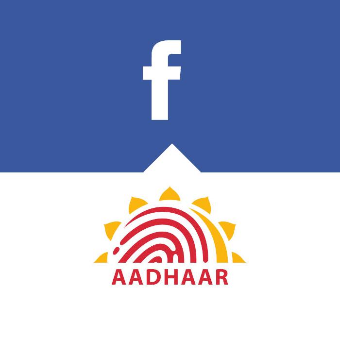 Facebook-Aadhaar