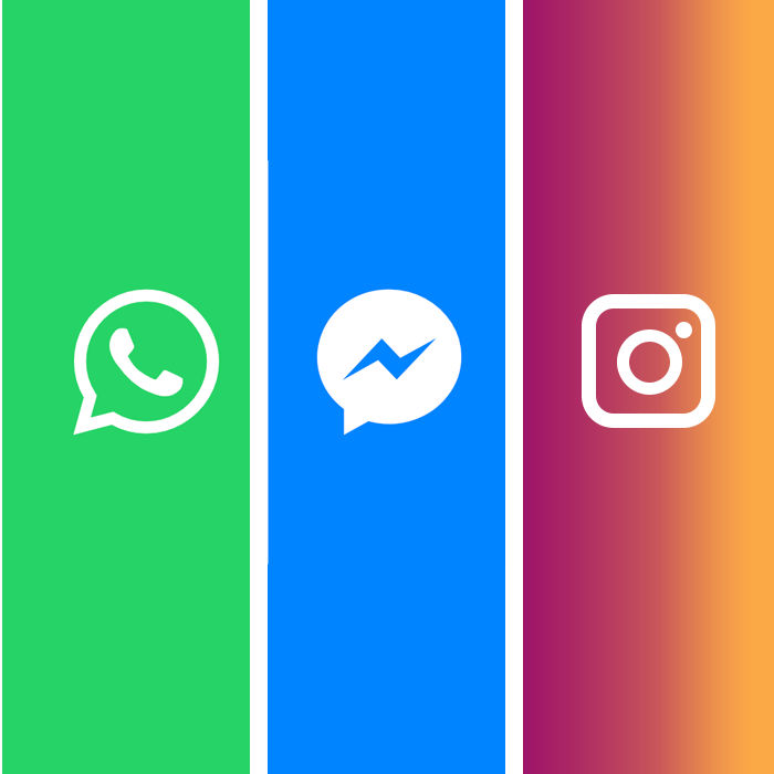 whatsapp messenger instagram merge
