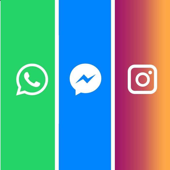 whatsapp messenger instagram merge