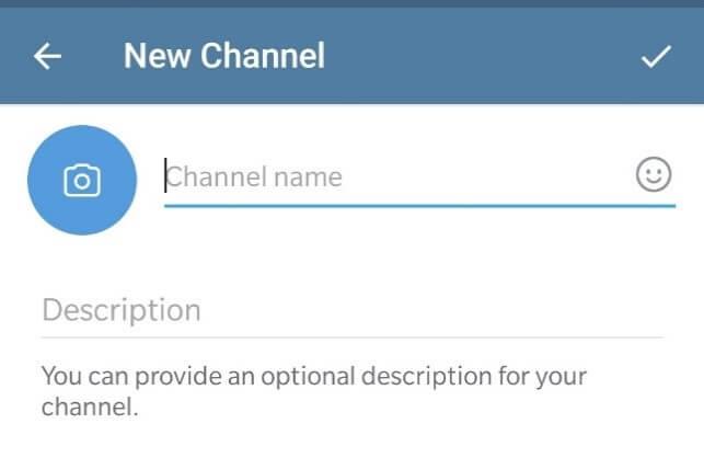 creating channel on telegram step 4