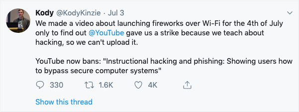 kody tweet cyber security