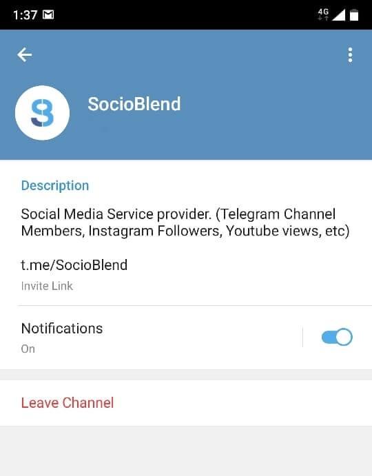socioblend telegram