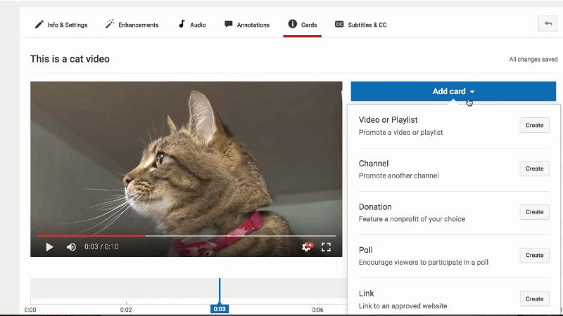 end screen youtube tricks