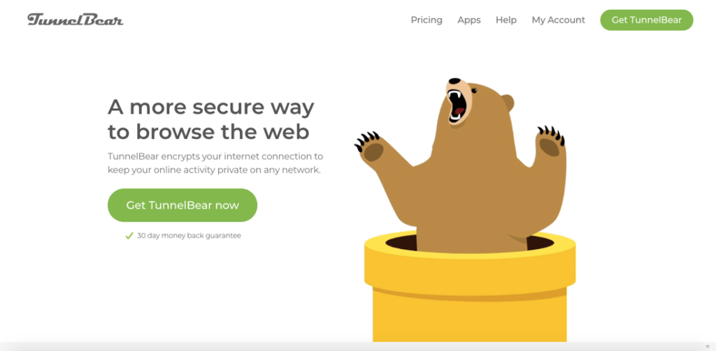 tunnel bear vpn services