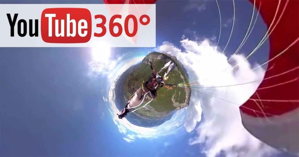 youtube 360 degree videos