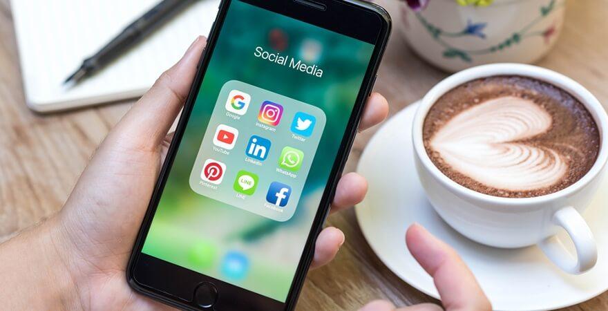 post consistent on social media
