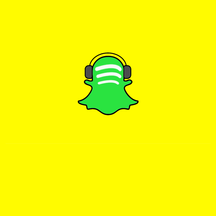 share spotify music via snaps and stories on snapchat