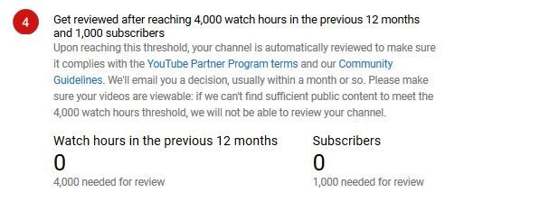 youtube partnership program step by step guide 8