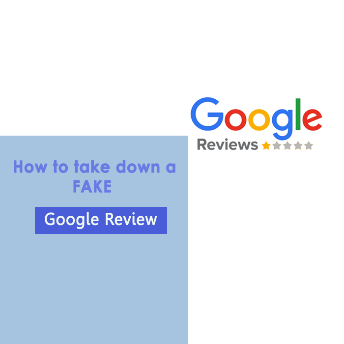 how to take down a fake google business review