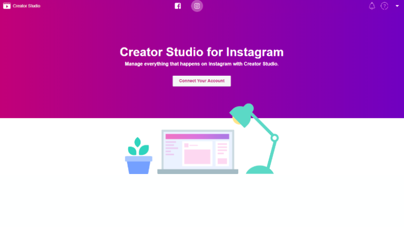 creator studio for instagram