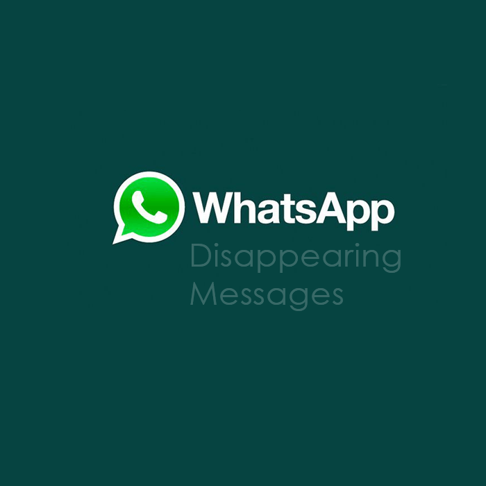 WhatsApp disappearing messages new feature