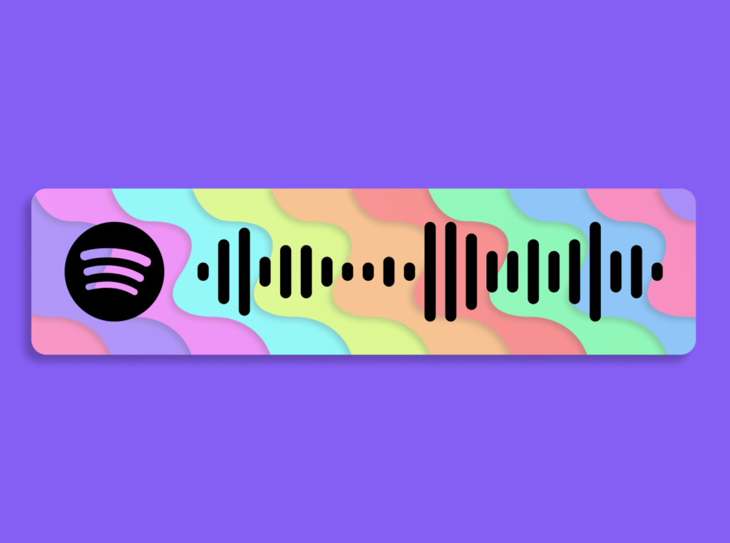 Make and share Spotify Code