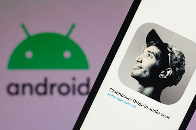 Clubhouse Android app launch