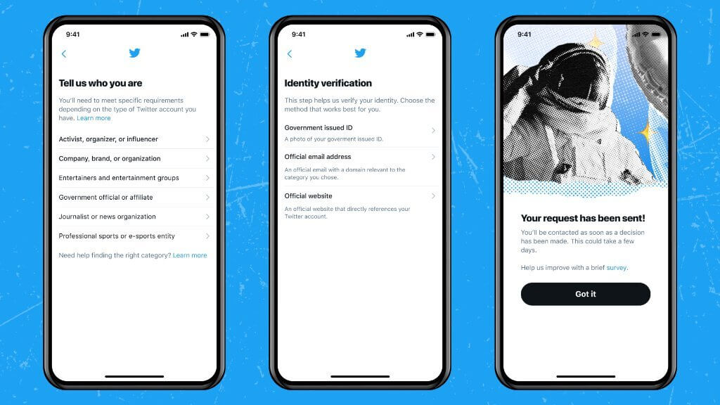 How to apply for Twitter Blue Badge Verification