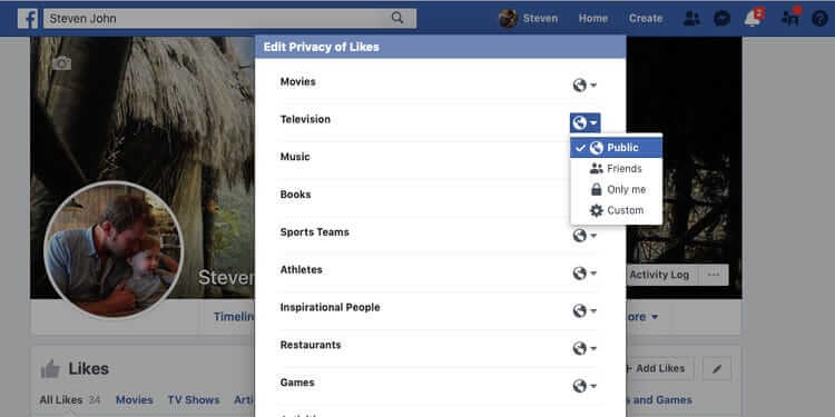 How to hide Facebook Likes