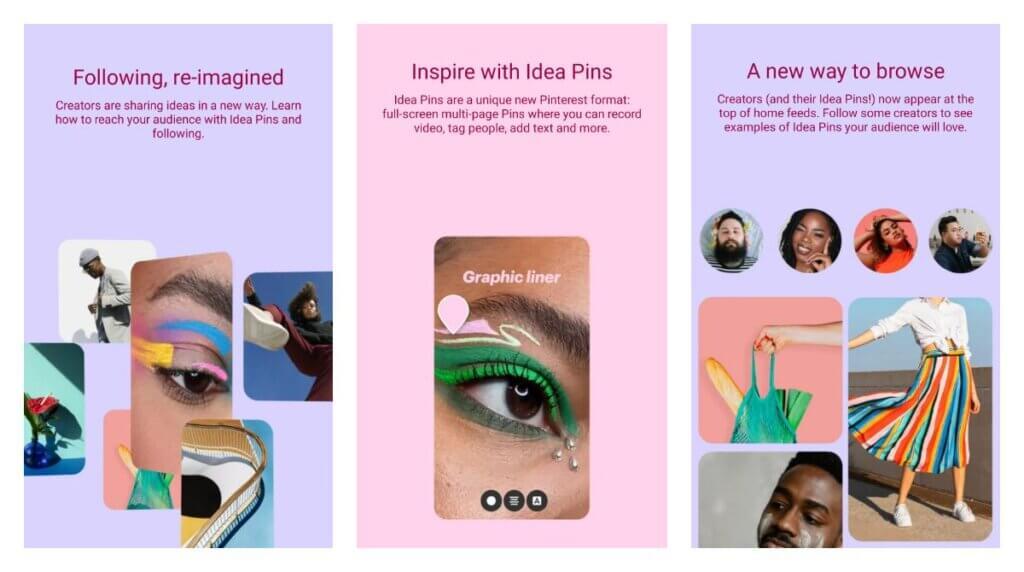 Pinterest introduces Idea Pins for creators
