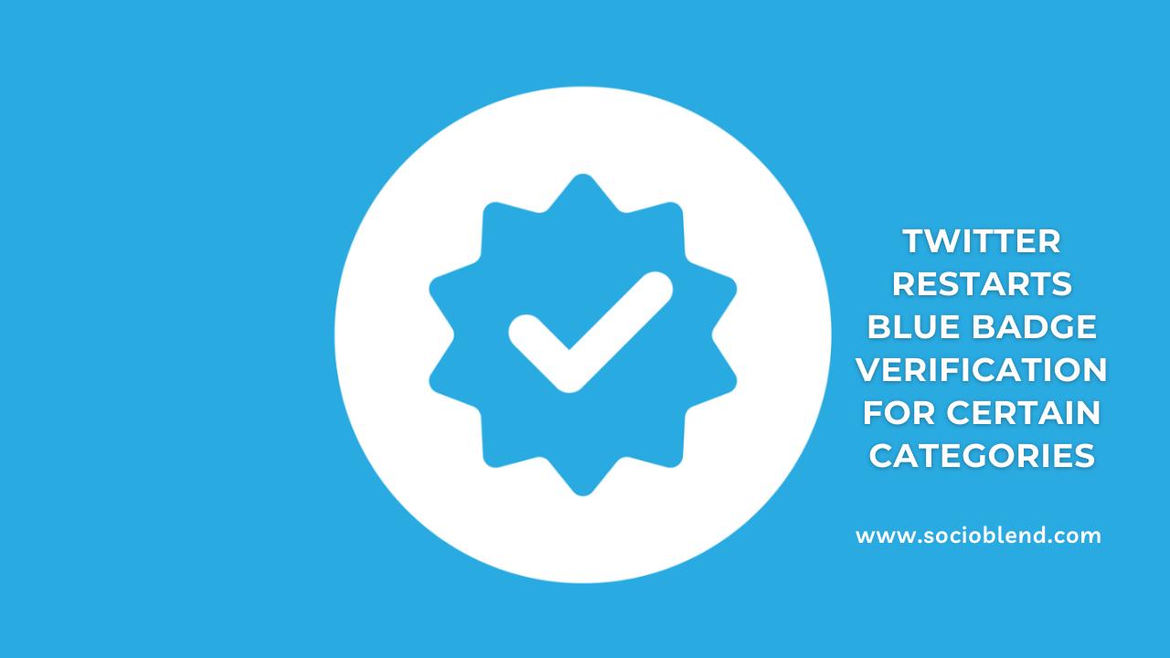 Twitter Blue Tick Verification Process