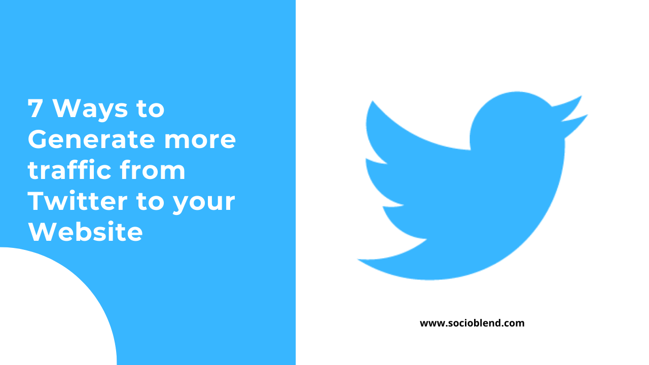 Ways to generate traffic from Twitter to your website