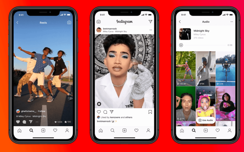 Instagram reels ads placement
