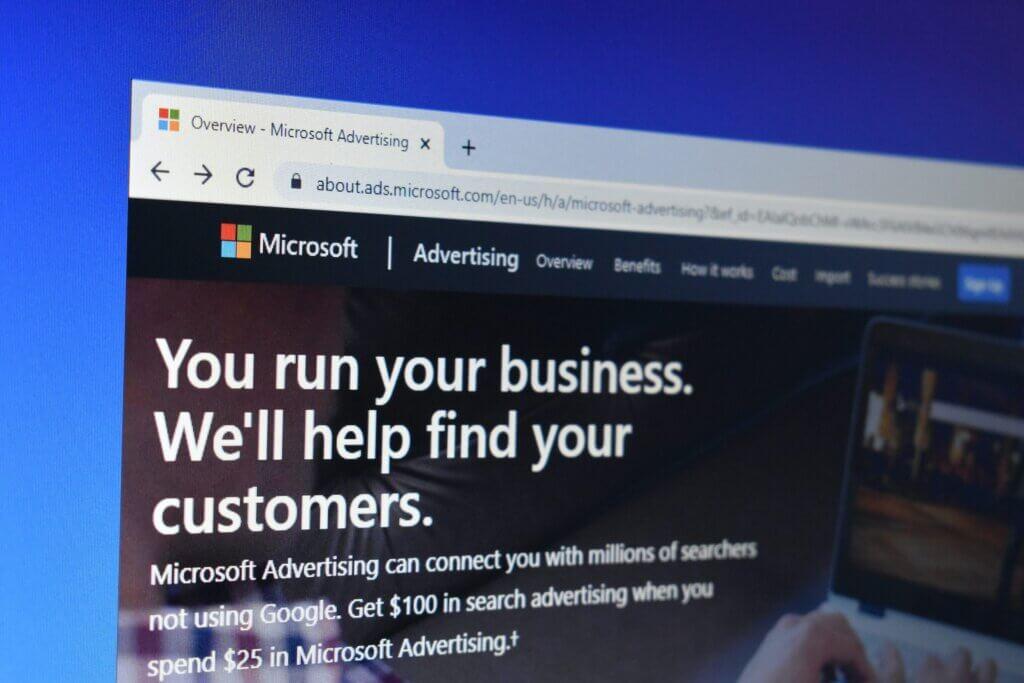 Microsoft ads as Google ads alternative
