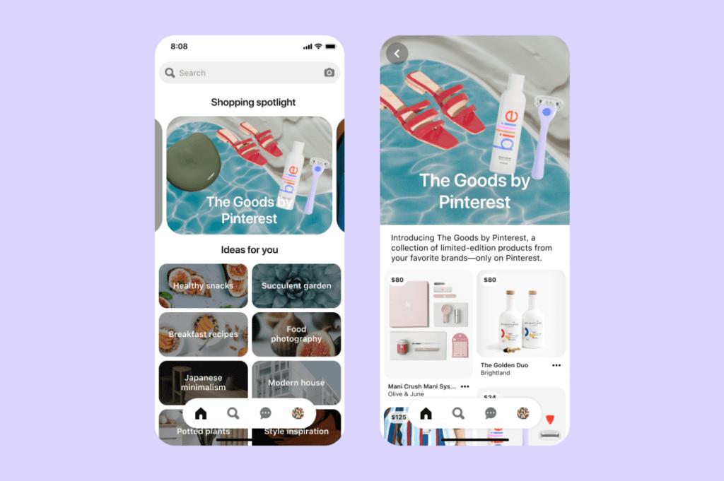 Pinterest Shopping Spotlight
