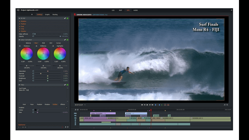 Lightworks Video editing software for beginners