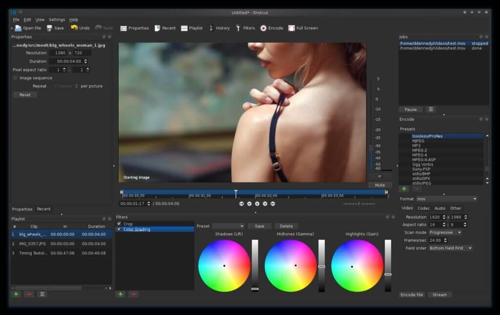 Shotcut Video Editor for Beginners