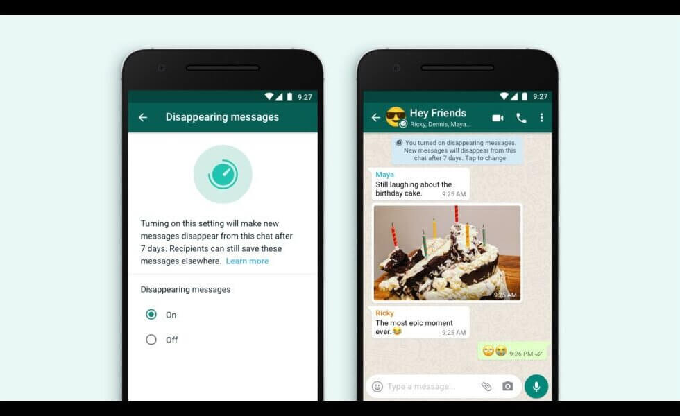 How to use Whatsapp Disappearing Messages Feature