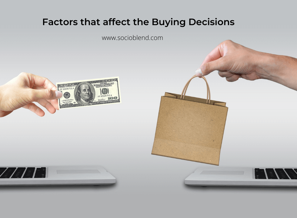 factors affecting buying decision